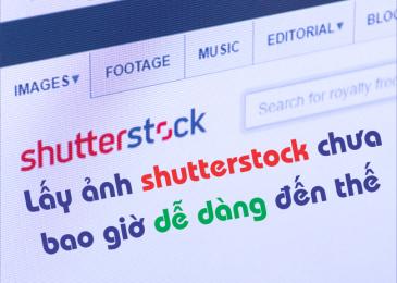 Get link shutterstock miễn phí và không dính bản quyền