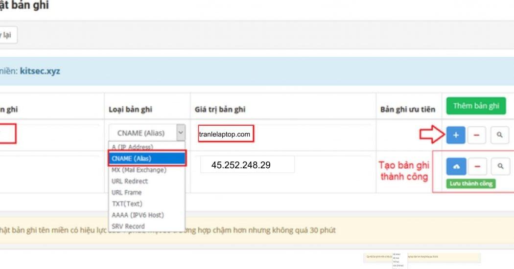Hướng dẫn trỏ tên miền iNET về Host Azdigi chỉ với 5 Phút 9 Hướng dẫn trỏ tên miền iNET về Host Azdigi chỉ với 5 Phút
