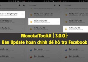 MonokaiToolkit [ 3.0.0]- Bản Update hoàn chỉnh để hỗ trợ Facebook