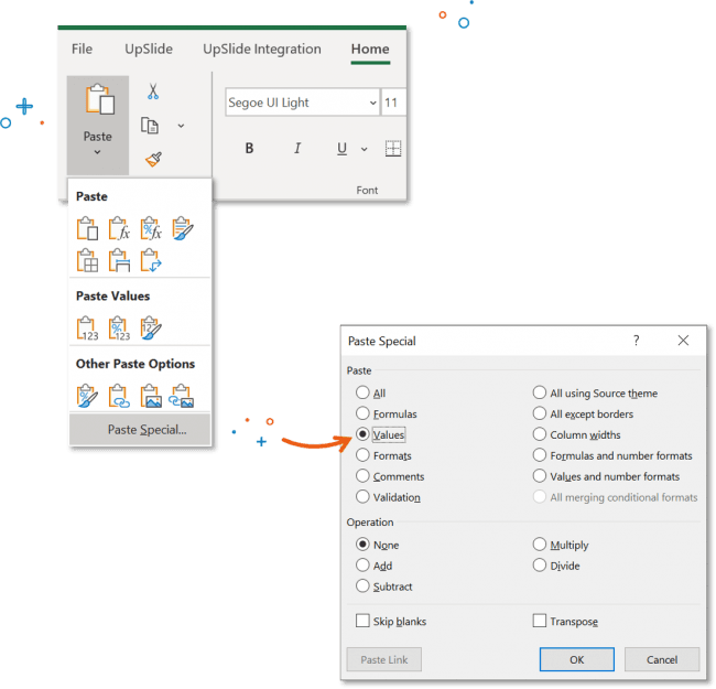 giảm dung lượng file Excel
