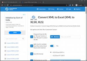 Cách chuyển đổi file XML sang Excel