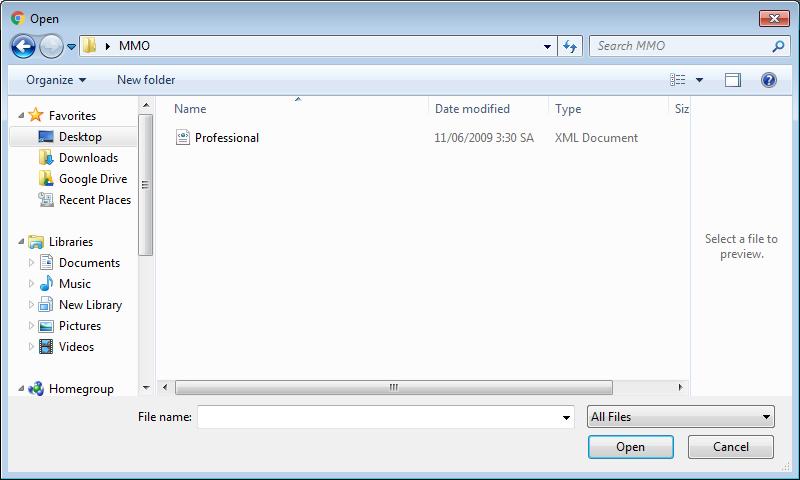 Cách chuyển đổi từ định dạng file XML sang Excel