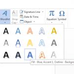 Hướng dẫn cách tạo chữ nghệ thuật trong Word đơn giản nhất