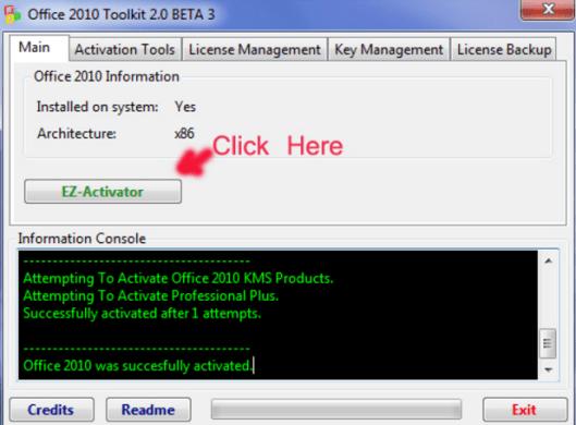 Hướng dẫn CrackOffice 2010đơn giản bằng Toolkit