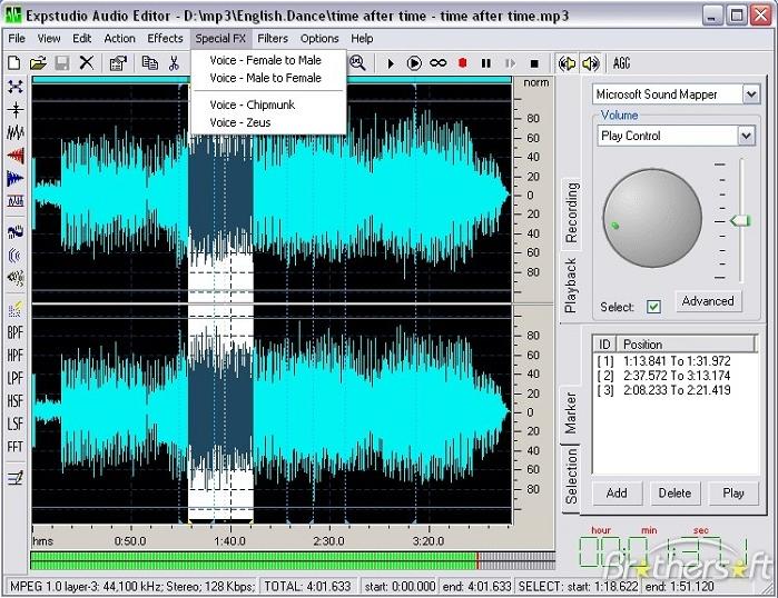 phần mềm chỉnh sửa nhạc và âm thanh